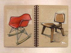 Reid Schlegel\'s Notebook Sketches | MASHKULTURE