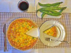 Innamorarsi in cucina: Quiche lorraine alle fave
