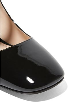Prada - Patent-leather Pumps - Black - IT39.5