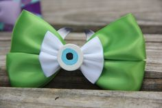 Mike Hair Bow by DumbowShoppe on Etsy https://www.etsy.com/listing/201037956/mike-hair-bow