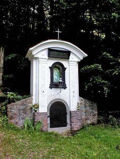 kaplička u Veverské Bitýšky Czech Republic, Bohemia