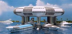 Gavin Rothery - Directing - Concept - VFX - Gavin Rothery Blog - Jacque Fresco ArchitecturalModels