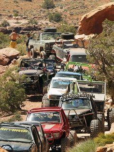 Easter Jeep Safari, 4x4 off road annual event - Moab, Utah