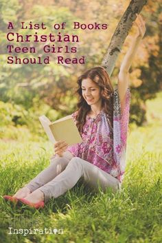 A list of books/Bible studies Christian teen girls should read. Good for small groups or independent reading.