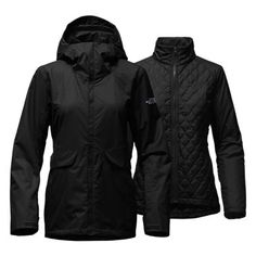 The North Face Women's Initiator THERMOBALL Triclimate Hooded Rain Jacket