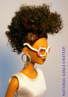 Natural Hair Inspired Dolls.   More dolls at Natural Girl's United!  www.naturalgirlsunited.com