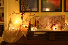 Lovely Winter Nature Table