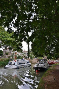 sur le Canal du Midi - POILHES - Hérault , FRANCE par Réda CHER
