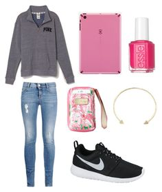 """""""PINK"""" by ktanner02 on Polyvore"""