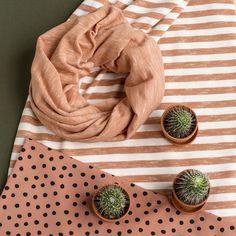 Pippuricollege raita, vanilja - fasaani (LEVEÄ)   NOSH verkkokauppa    Get inspired by new NOSH fabrics for Spring 2017! Discover new colors, prints and quality organic cotton. Shop new fabrics at en.nosh.fi
