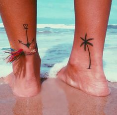 love the palm tree not sure about the anchor x