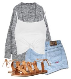 """""""Untitled #19"""" by rosymamii on Polyvore featuring Topshop and Billabong"""