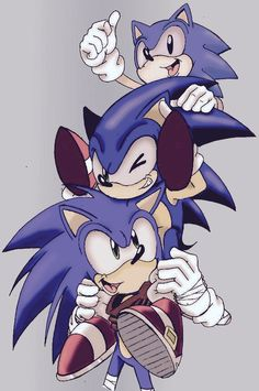 Next you know, Sonic will be old, and be reborn as new. But not remember anyone else, but they remember him. Sonic 3, Sonic And Amy, Sonic And Shadow, Sonic Fan Art, Sonic The Hedgehog, Shadow The Hedgehog, Sonic Generations, Classic Sonic, Sonic Franchise