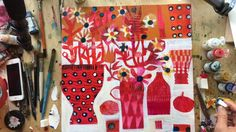 Explore Colour Online Painting Course - Print and Pattern on Vimeo