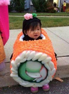 Sushi costume...adorable