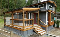 18b  Park Model Manufactured Home Porch Inspiration