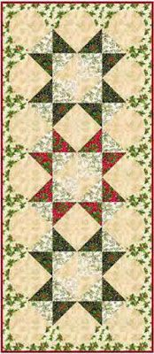 Quilt Inspiration: Free pattern day: Christmas Table Runners! Xmas Table Runners, Quilted Table Runners Christmas, Christmas Patchwork, Patchwork Table Runner, Christmas Quilt Patterns, Christmas Runner, Table Runner And Placemats, Table Runner Pattern, Christmas 2015