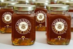 BRANDING :: Apis Hive Honey by Rod Burkholz, via Behance