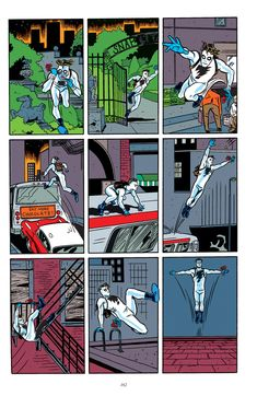 A great movement sequence from Michael Allred with sympathetic colur by Laura Allred Character Sketches, Character Design, Comic Books Art, Comic Art, Mike Allred, Weird Art, Gotham City, Comic Covers, Mad Men