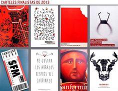 Carteles finalistas de San Fermín 2013