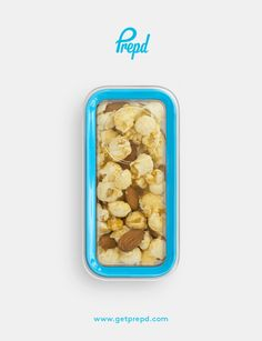This sweet and salty snack offers a combination of healthy fat and wholegrain carbohydrate to keep you going for hours!