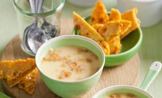 White chocolate honeycomb pots
