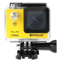 PULUZ GoPro Accessories Wholesale from China, factory price, online Wholesaler and Dropshipper - PULUZ U6000 Full HD 1080P 2.0 inch LCD Screen WiFi Waterproof Multi-function Sport Action Camcorder, Novatek NT96650 Chipset, 175-degree Wide-angle Lens(Yellow)