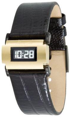 4062be2b3 Kenneth Cole Women's KC2565 Digital Quartz Leather Strap ... https://www