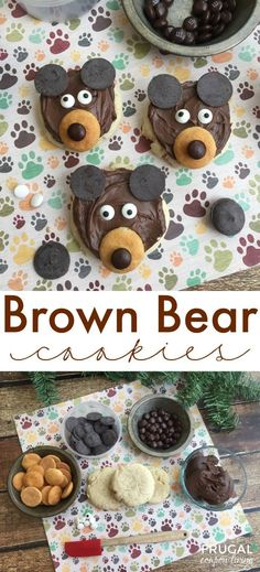 Okay, honestly, how adorable are these Brown Bear Cookies? They are so quick and easy and are loved by any child in this food craft for kids. Grab the recipe and ingredients on Frugal Coupon Living.