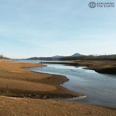 Exploration & Photo by @katiamars_ Location / Plastira Lake, Greece