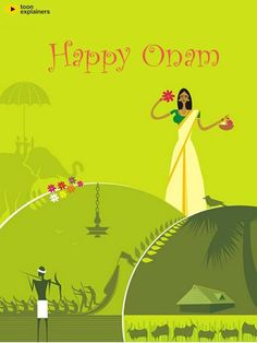 A Very Wonderful Happy #Onam Wishes To All #Onam2015 #onamsadhya #ToonExplainers…