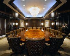 Crazy fancy boardroom.