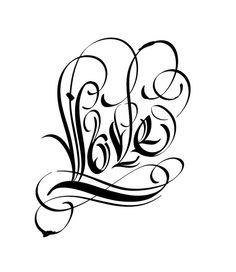Calligraphy by Kirill Richert