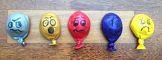stress ball balloons (have the balloons created, let teens take a study break by 'creating' a face using the extra overhead/transparency markers I have (that way Sharpies aren't out at this 'large' event))
