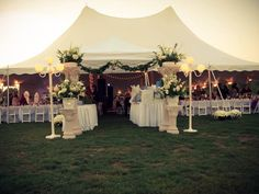 Bauer's Tents & Party Rentals - call for details and pricing. Tents, Reception, Table Decorations, Party, Home Decor, Teepees, Decoration Home, Room Decor, Tent