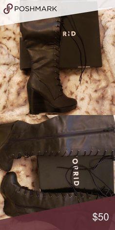 003d4411fd1 I just added this listing on Poshmark  Knee high boots.  shopmycloset   poshmark