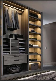 The best of luxury closet design in a selection curated by Boca do Lobo to inspi. The best of luxury closet design in a selection curated by Boca do. Wardrobe Design Bedroom, Bedroom Wardrobe, Wardrobe Closet, Master Closet, Closet Space, Wardrobe Interior Design, Men Bedroom, Master Bedrooms, Wardrobes For Bedrooms