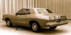 1972 Mustang II full size rear fiberglass design model by Dick Nesbitt