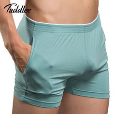 Taddlee Brand Sexy Men Underwear Boxer Shorts Mens Trunks Man Cotton Underwear High Quality Home Sleepwear Underpants New  Price: 13.48 & FREE Shipping