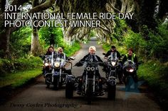 This photo won the most votes on the International Female Ride Day© Facebook page, and expressed the perfect representation of IFRD – its diversity and camaraderie – globally – for women riders.