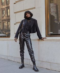 14 All-Black Outfits to Wear When You Just Can't Deal With Color