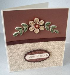 images about Paper Daisy Quilled Thank You Cards on