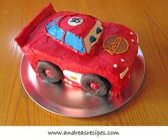 Lightening McQueen cake - we'll see if I'm up to this for son's third birthday ?????