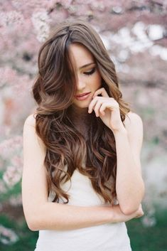 I wish my hair looked like that!! My someday hair, a girl can dream.