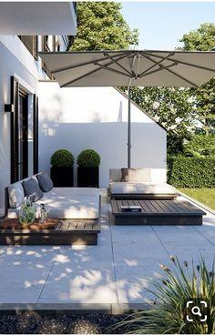 Backyard Patio Designs, Backyard Landscaping, Backyard Ideas, Landscaping Ideas, Terrace Ideas, Pergola Designs, Pergola Patio, Pergola Ideas, Small Patio Ideas On A Budget