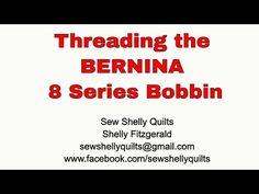 Threading the BERNINA 8 Series bobbin - YouTube