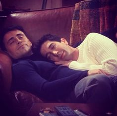 Ross and Joey  Nap Friends Tv show