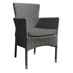 outdoor rattan armchair uk bedroom chair with blanket 29 best furniture images cane oasis garden dark grey cushion patio seat shop interior