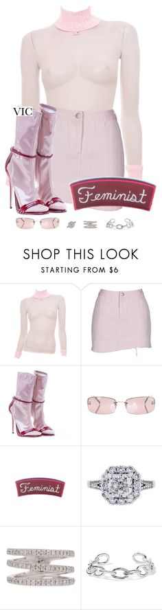 """""""Untitled #409"""" by victoriaburton1 ❤ liked on Polyvore featuring Gucci, Chanel, Loree Rodkin and Jennifer Fisher"""