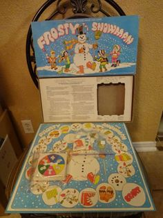 1979 Parker Brothers Frosty the Snowman Board Game Christmas Board Games, Christmas Themes, Frosty The Snowmen, Snowman, Pen And Paper Games, Bored Games, Welcome Winter, Vintage Board Games, Winter Holidays